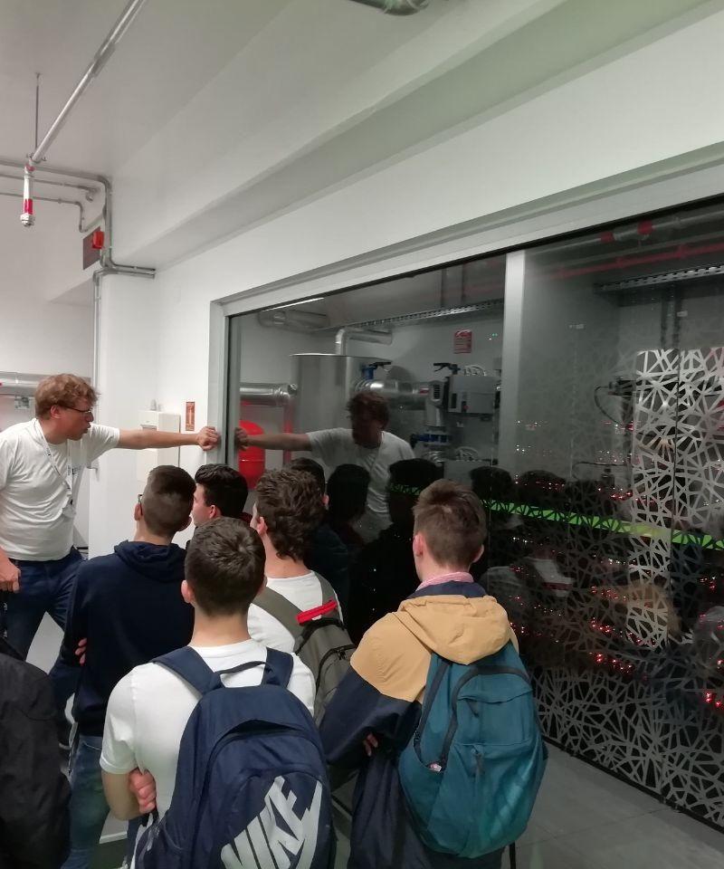 Obrtnička škola Koprivnica Students visit CNRM during Open Day of University Departments