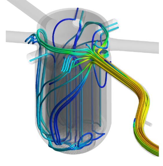 CFD study of the PTS experiment in ROCOM test facility